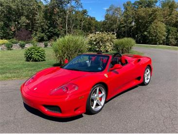 2002 Ferrari 360 Spider (CC-1419360) for sale in Astoria, New York