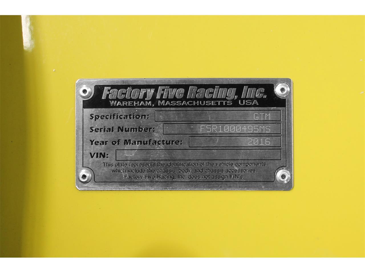 1960 Factory Five GTM (CC-1410956) for sale in San Carlos, California