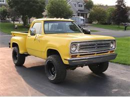 1972 Dodge W100 (CC-1419619) for sale in Cadillac, Michigan