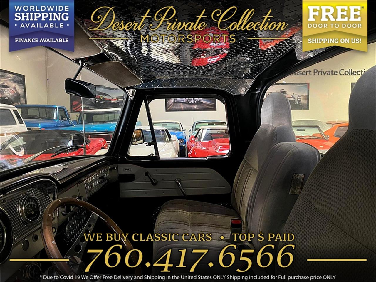 1963 Ford F100 (CC-1410964) for sale in Palm Desert , California