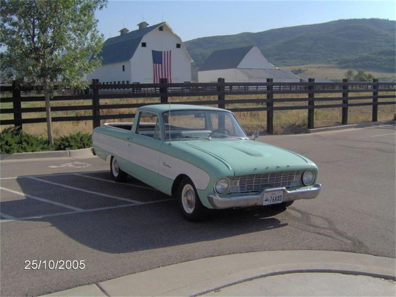 1960 Ford Ranchero (CC-1419640) for sale in Cadillac, Michigan