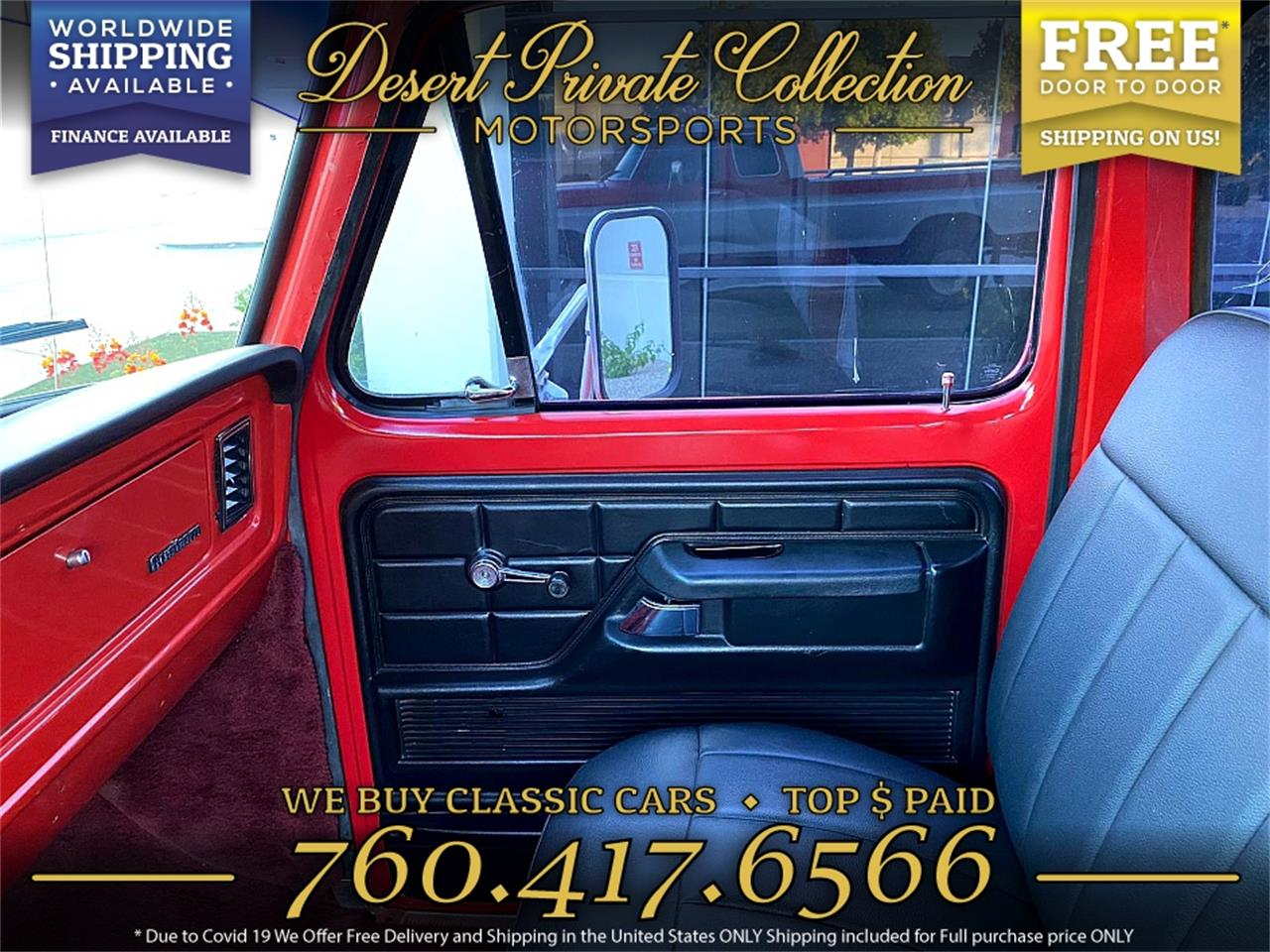 1975 Ford F250 (CC-1410967) for sale in Palm Desert , California