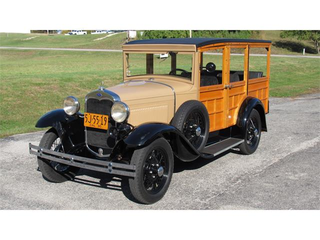 1930 Ford Woody Wagon