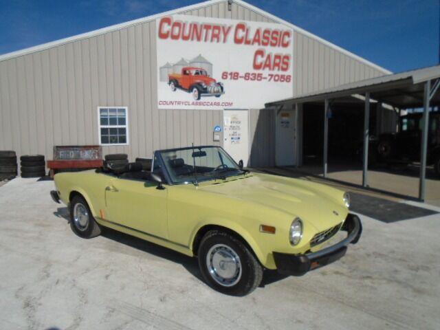 1975 Fiat Spider (CC-1419888) for sale in Staunton, Illinois