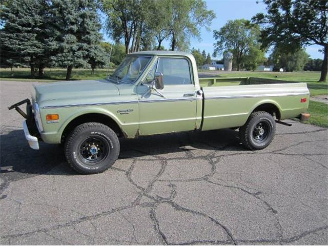 1972 Chevrolet C20 (CC-1421088) for sale in Cadillac, Michigan