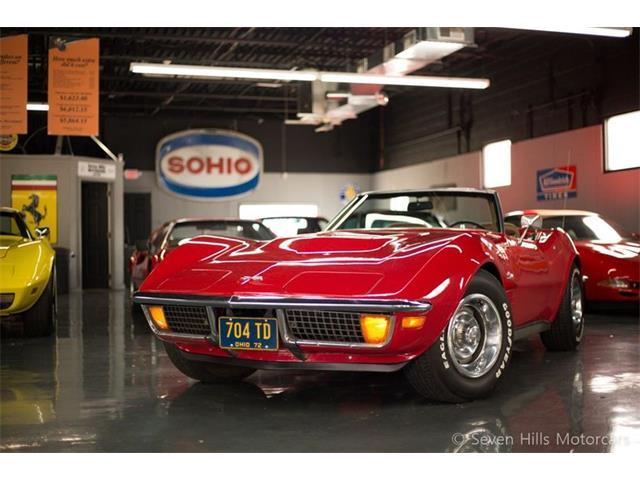 1972 Chevrolet Corvette (CC-1421153) for sale in Cincinnati, Ohio
