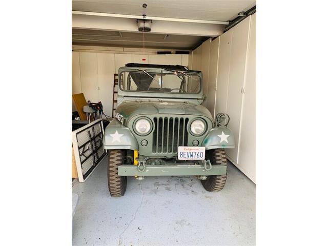1957 Jeep CJ5 (CC-1421159) for sale in San Luis Obispo, California