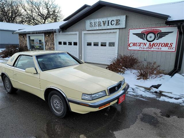 1989 Chrysler TC by Maserati (CC-1421186) for sale in Spirit Lake, Iowa
