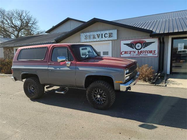 1990 Chevrolet Blazer (CC-1421187) for sale in Spirit Lake, Iowa