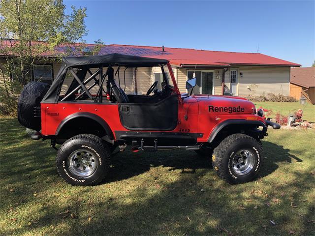1977 Jeep CJ7 (CC-1421237) for sale in Salem, Wisconsin