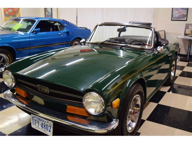 1973 Triumph TR6 (CC-1420129) for sale in Fredericksburg, Virginia