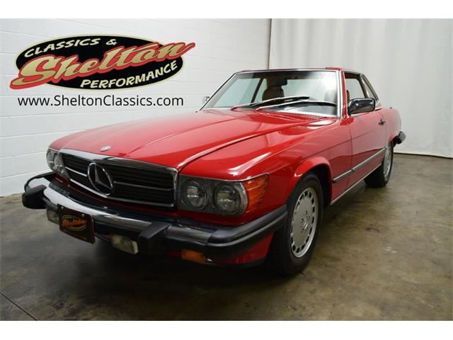 1986 Mercedes-Benz 560SL (CC-1421311) for sale in Mooresville, North Carolina
