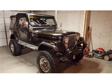 1982 Jeep CJ7 (CC-1421330) for sale in Cadillac, Michigan
