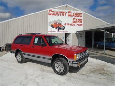 1993 Chevrolet Blazer (CC-1421333) for sale in Staunton, Illinois