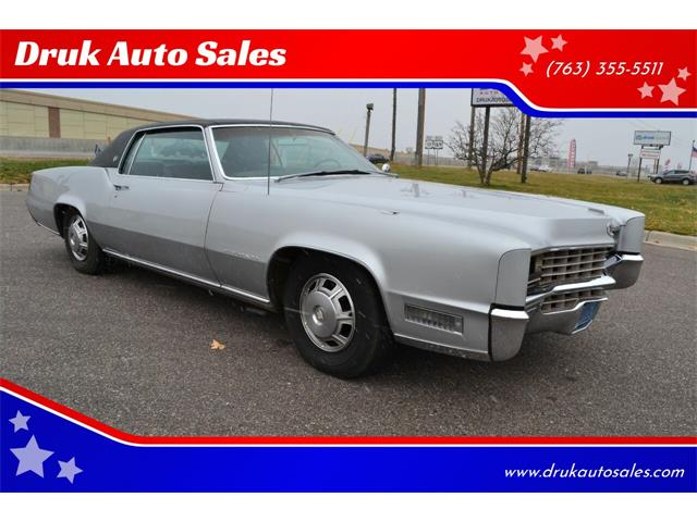 1967 Cadillac Eldorado (CC-1421406) for sale in Ramsey, Minnesota