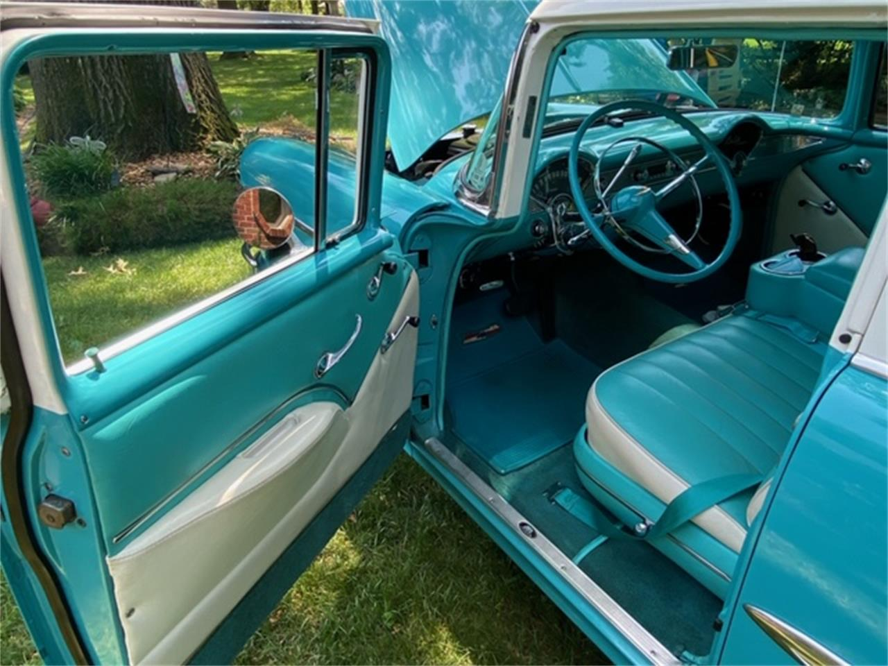 1955 Chevrolet Bel Air Wagon (CC-1421469) for sale in BELLEVILLE, Illinois