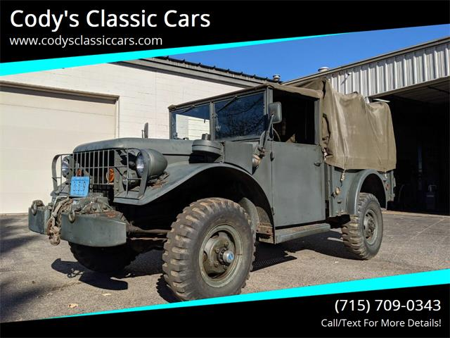 1952 Dodge M-37 (CC-1421616) for sale in Stanley, Wisconsin