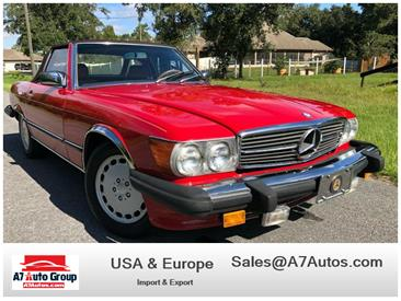 1988 Mercedes-Benz 560SL (CC-1421684) for sale in Holly Hill, Florida