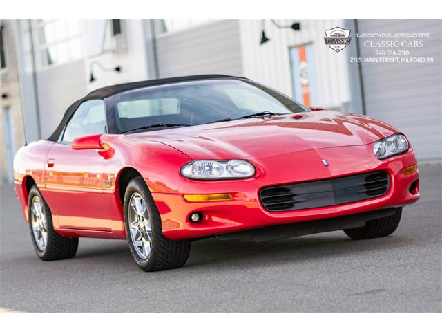 2002 Chevrolet Camaro SS Z28 (CC-1421720) for sale in Milford, Michigan