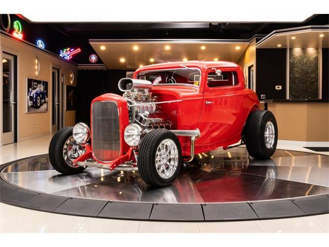 1932 Ford 3-Window Coupe (CC-1421791) for sale in Plymouth, Michigan