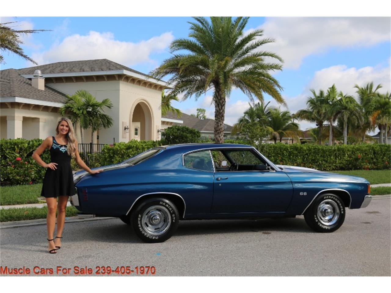 1972 Chevrolet Chevelle SS (CC-1422015) for sale in Fort Myers, Florida