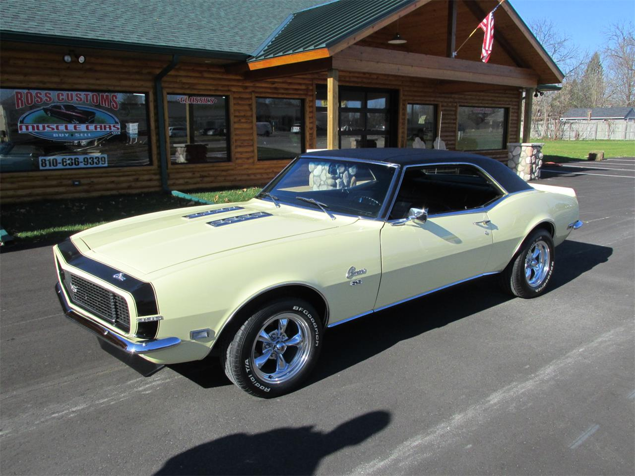 1968 Chevrolet Camaro RS/SS (CC-1422075) for sale in Goodrich, Michigan