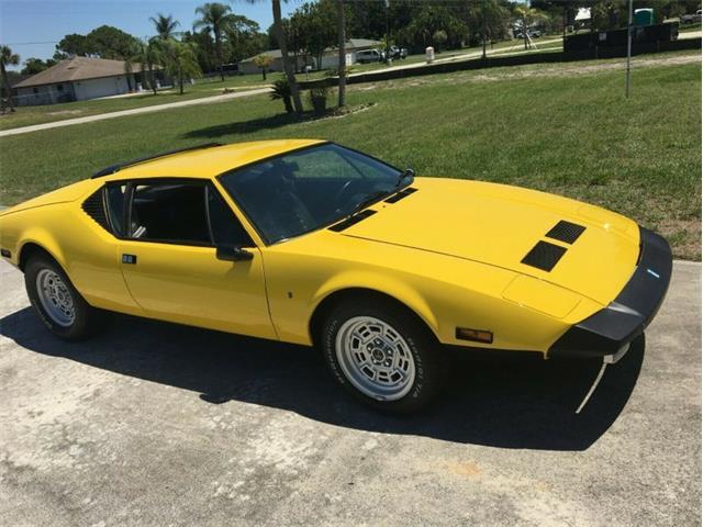 1972 De Tomaso Pantera (CC-1422096) for sale in Punta Gorda, Florida