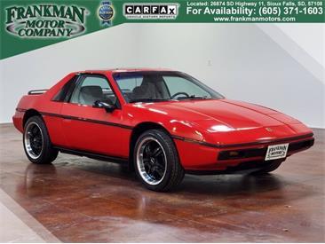 1985 Pontiac Fiero (CC-1422138) for sale in Sioux Falls, South Dakota