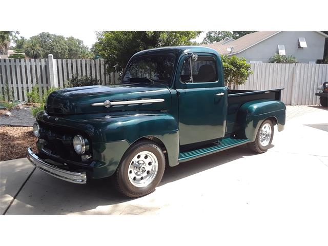 1952 Ford F1 (CC-1422165) for sale in Fernandina, Florida