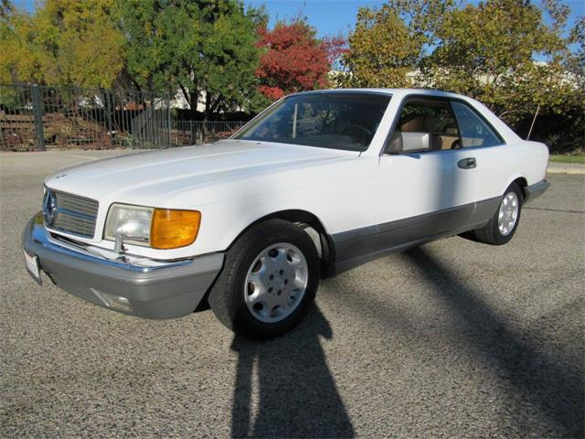1987 Mercedes-Benz 560SEC (CC-1422185) for sale in Simi Valley, California