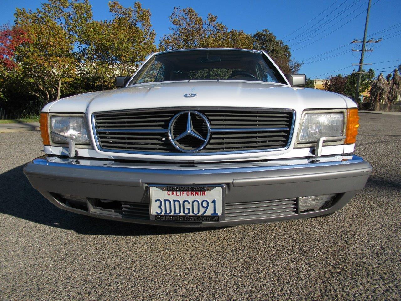 1987 Mercedes-Benz 560SEC (CC-1422185) for sale in Simi Valley, California