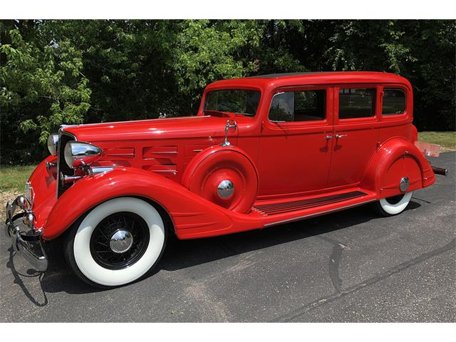 1934 Nash Ambassador (CC-1422356) for sale in Portage, Wisconsin