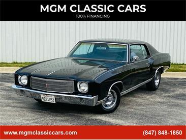 1970 Chevrolet Monte Carlo (CC-1420239) for sale in Addison, Illinois