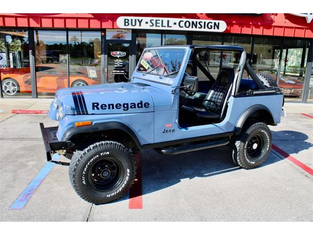1981 Jeep Renegade (CC-1422484) for sale in Sarasota, Florida