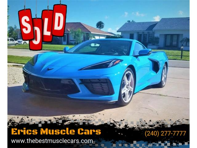 2020 Chevrolet Corvette (CC-1422547) for sale in Clarksburg, Maryland