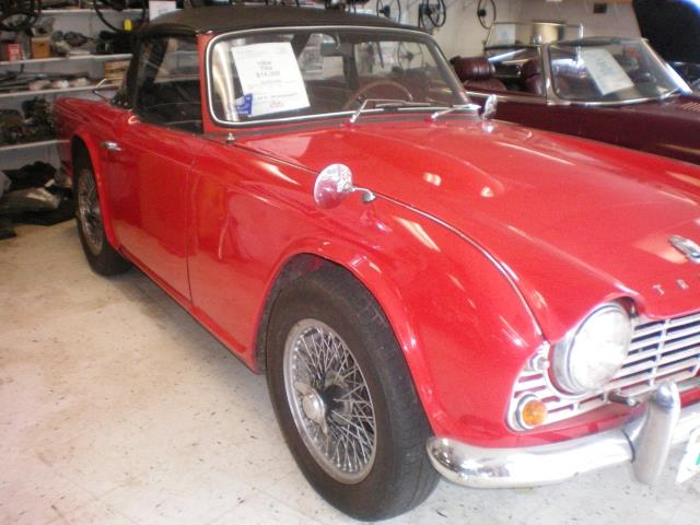 1964 Triumph TR4 (CC-1422602) for sale in rye, New Hampshire