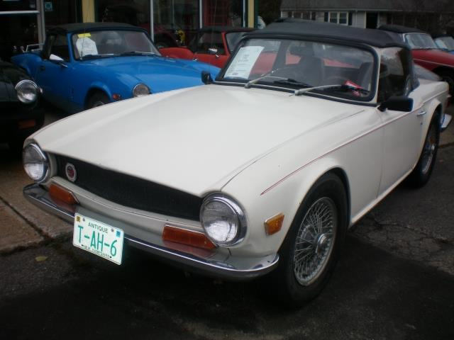 1969 Triumph TR6 (CC-1422604) for sale in rye, New Hampshire