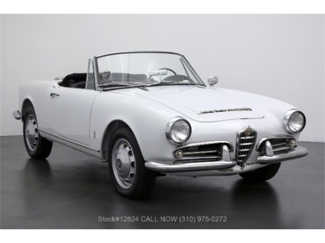 1963 Alfa Romeo Giulia Spider (CC-1422664) for sale in Beverly Hills, California