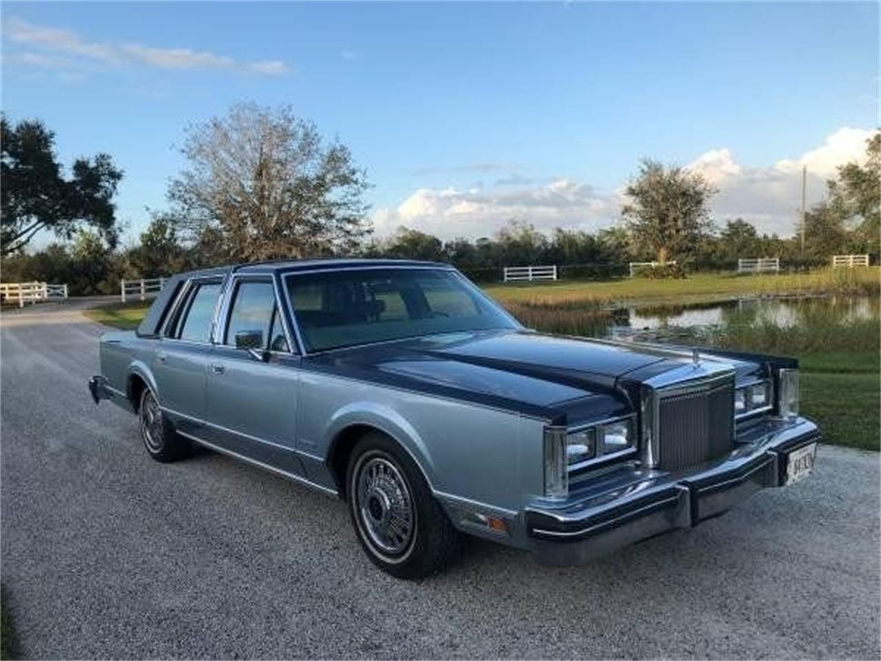 1983 Lincoln Town Car (CC-1422671) for sale in Punta Gorda, Florida