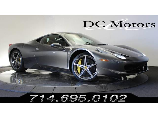2012 Ferrari 458 (CC-1422769) for sale in Anaheim, California