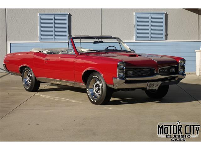 1967 Pontiac GTO (CC-1422787) for sale in Vero Beach, Florida