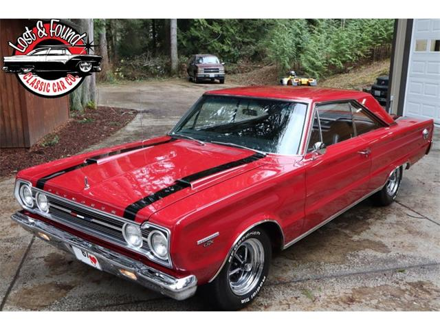 1967 Plymouth GTX (CC-1422801) for sale in Mount Vernon, Washington
