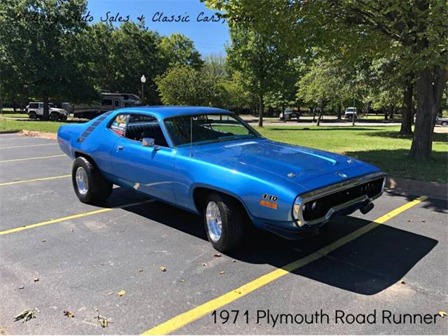 1971 Plymouth Road Runner (CC-1422831) for sale in Fort Smith, Arkansas