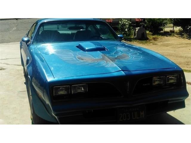 1978 Pontiac Firebird Trans Am (CC-1422834) for sale in Victorville, California
