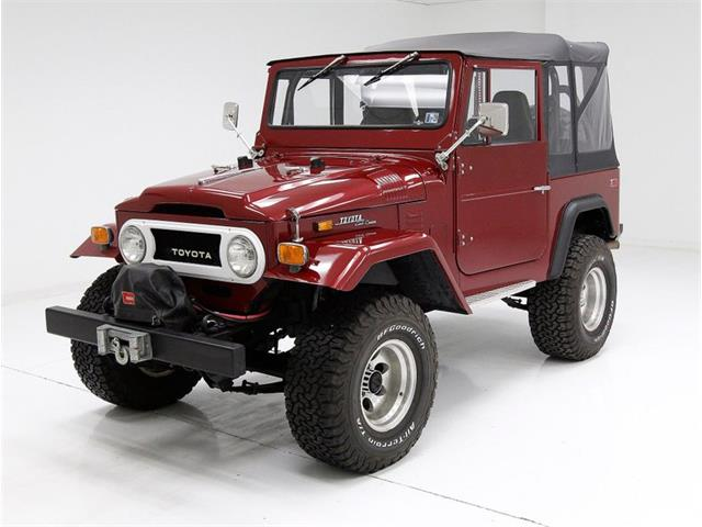 1971 Toyota Land Cruiser FJ (CC-1422874) for sale in Morgantown, Pennsylvania