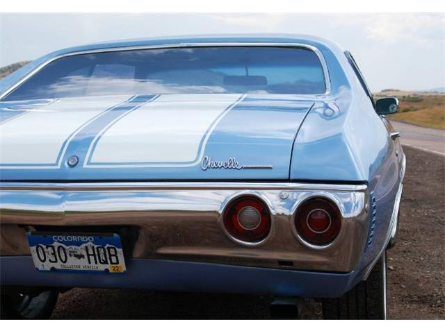 1972 Chevrolet Chevelle (CC-1423033) for sale in Cadillac, Michigan