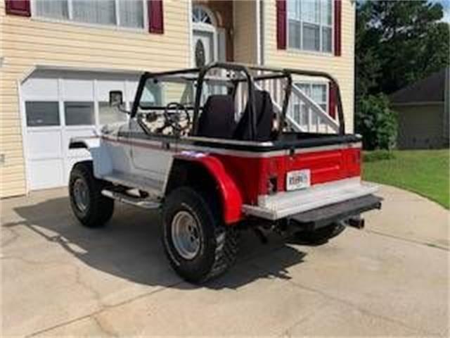 1975 Jeep CJ7 (CC-1423063) for sale in Cadillac, Michigan