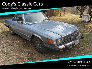 1985 Mercedes-Benz 380SL (CC-1423073) for sale in Stanley, Wisconsin