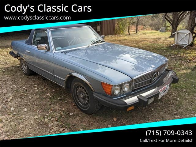 1985 Mercedes-Benz 380SL (CC-1423073) for sale in Stanley, Wisconsin