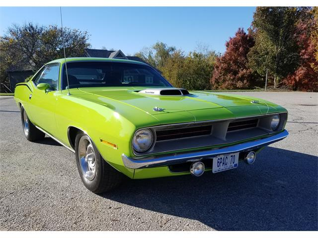 1970 Plymouth Cuda (CC-1423346) for sale in Warrensburg, Missouri